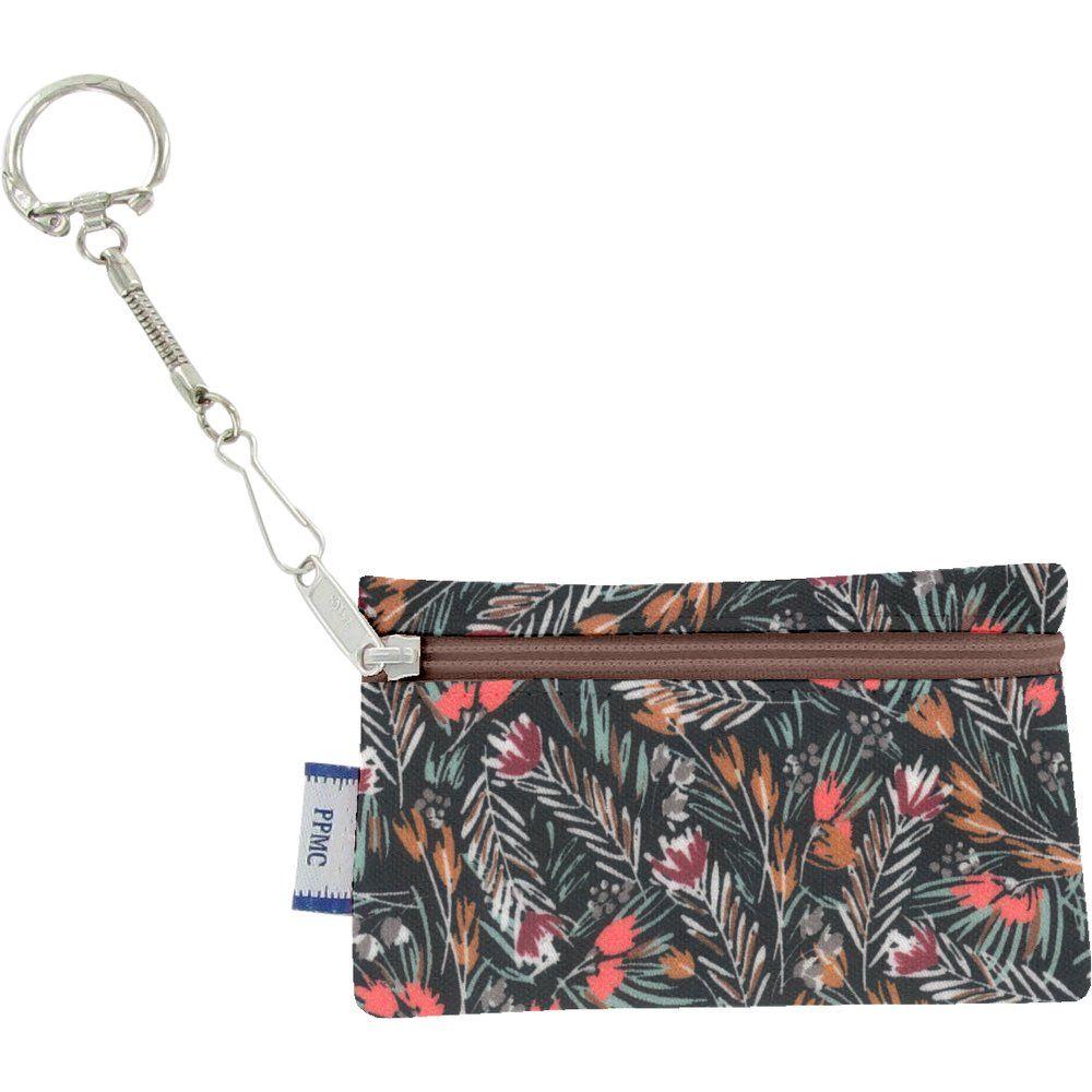 Pochette porte-clés  graminée