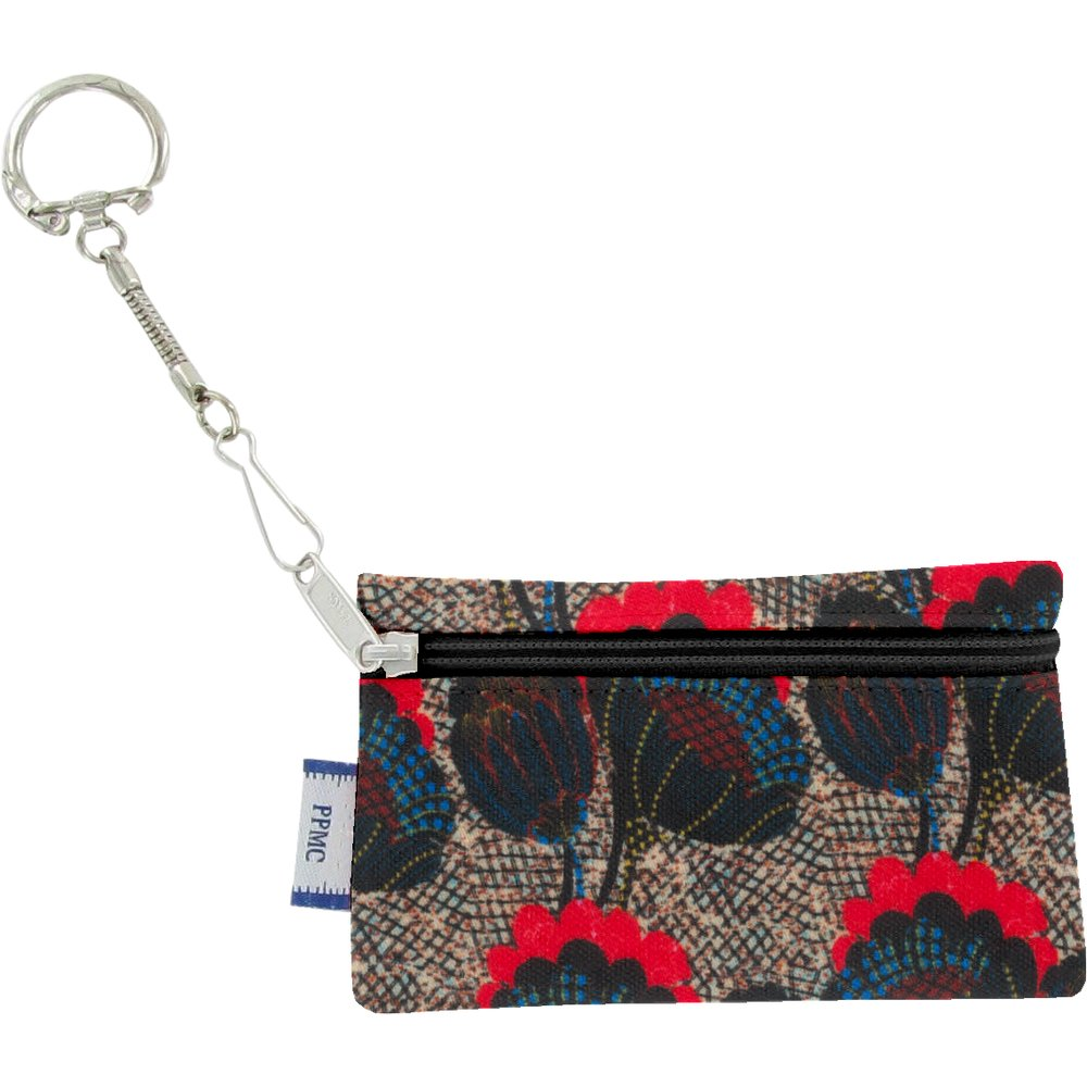 Keyring  wallet royal poppy