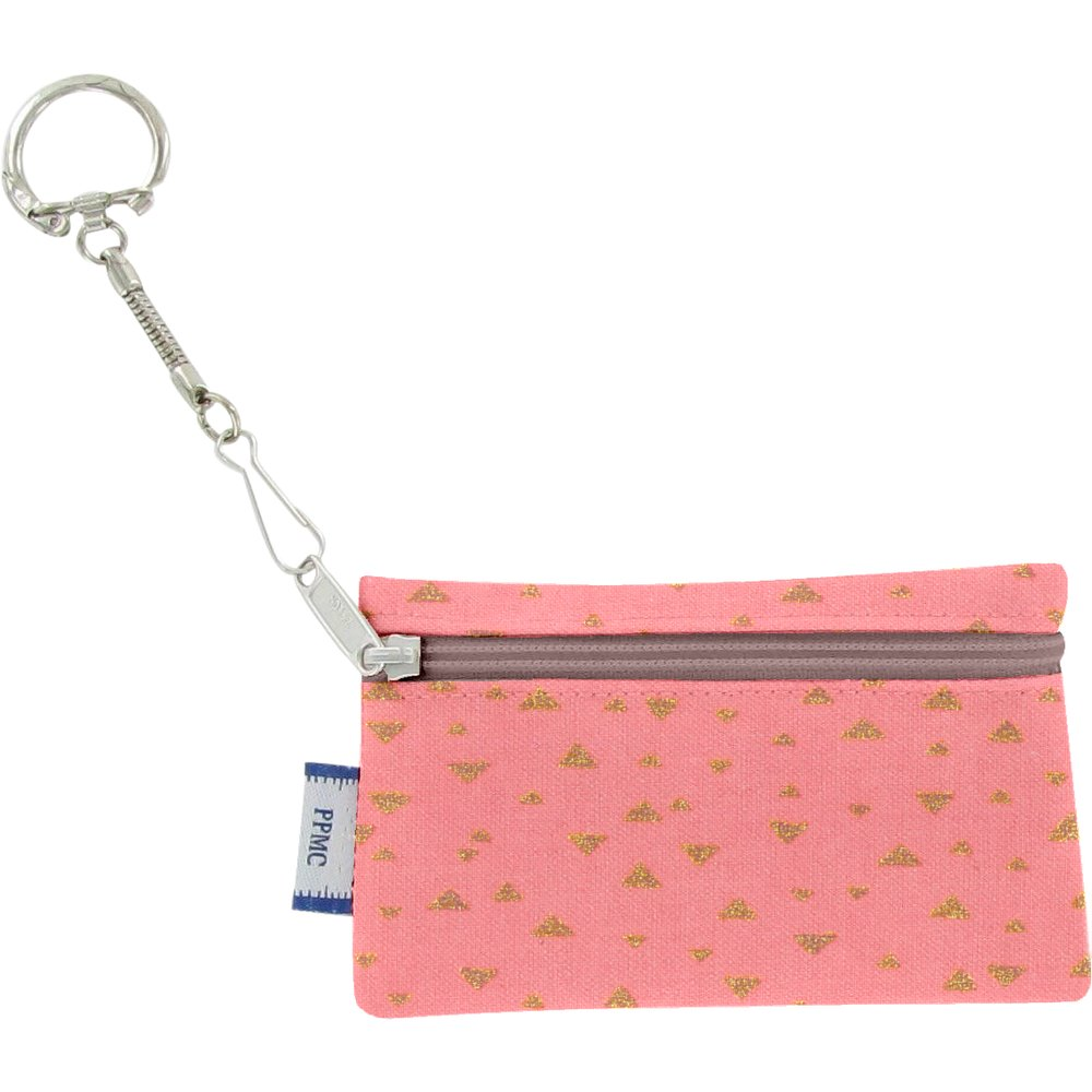 Keyring  wallet triangle or poudré