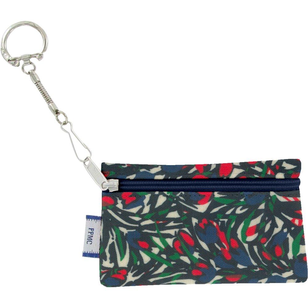 Pochette porte-clés  tulipes