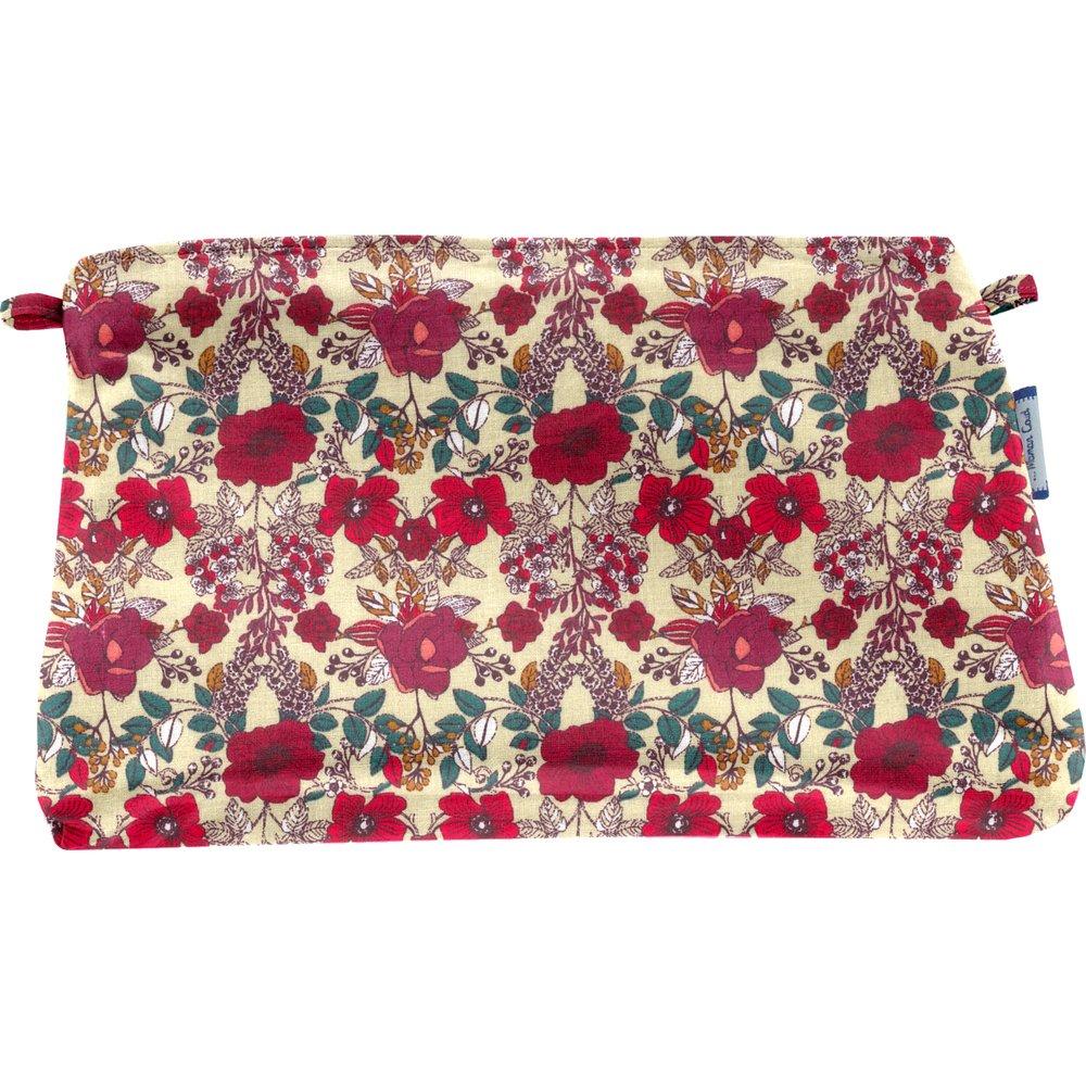 Coton clutch bag poppy