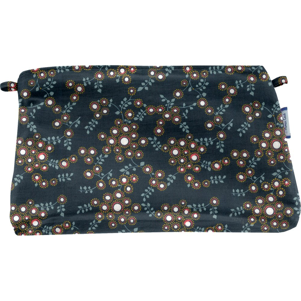 Coton clutch bag fireflies