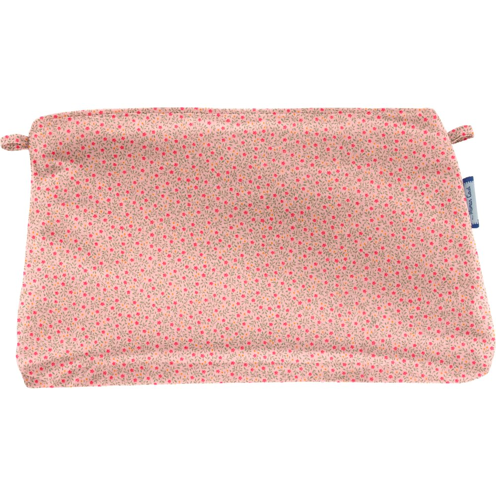 Coton clutch bag mini pink flower