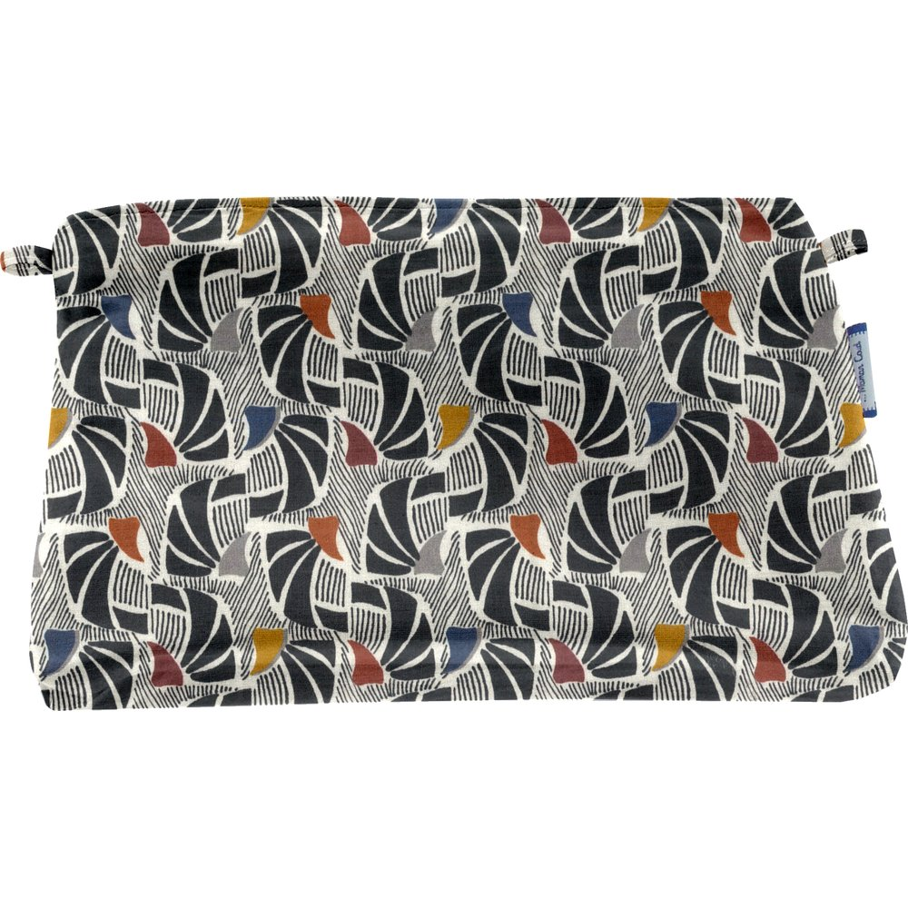 Coton clutch bag mosaïka
