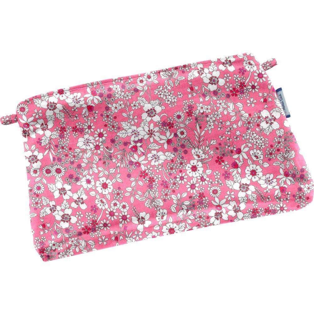 Tiny coton clutch bag pink violette