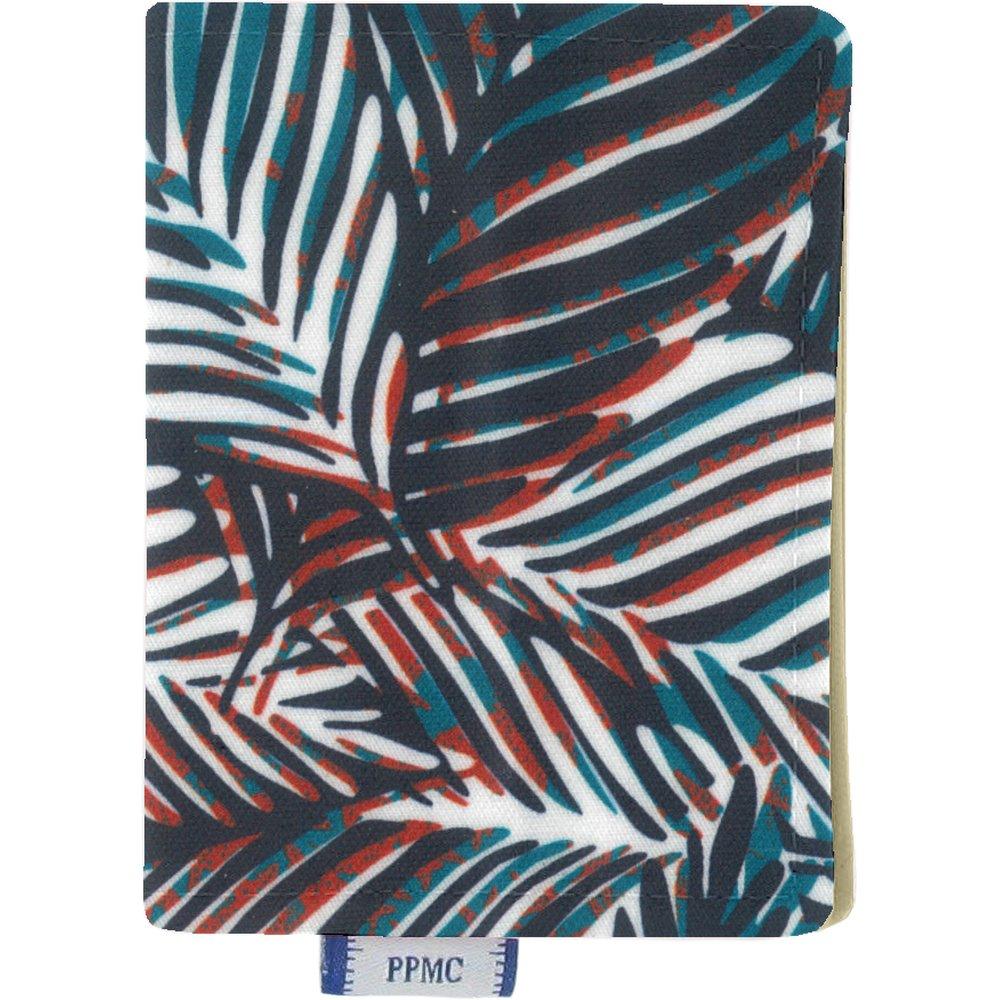 Card holder feuillage marine