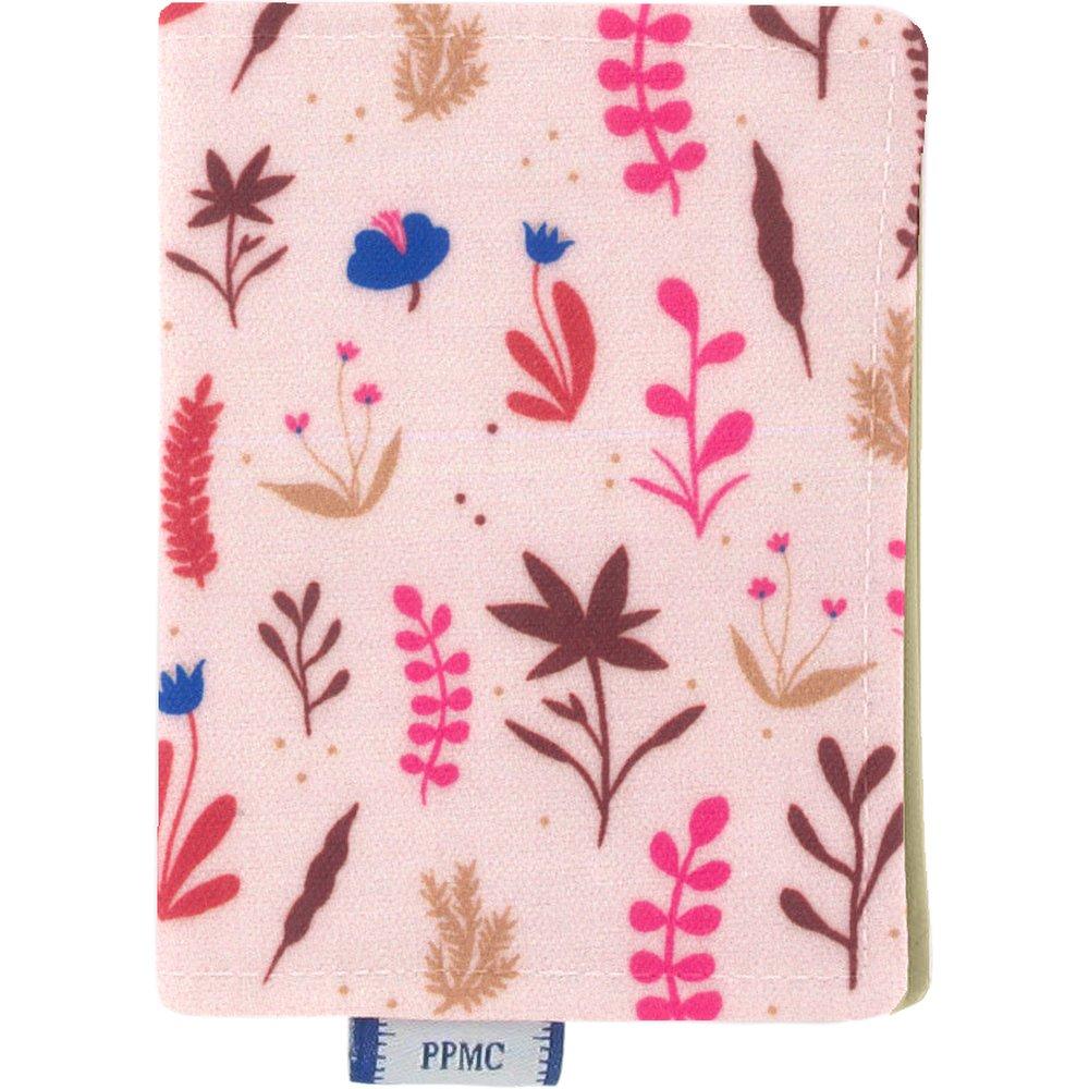 Card holder herbier rose