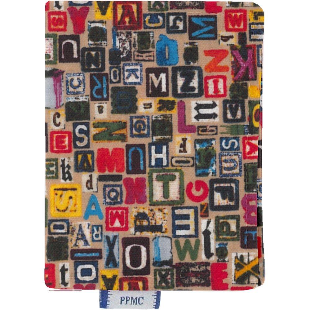 Porte carte lettres multi