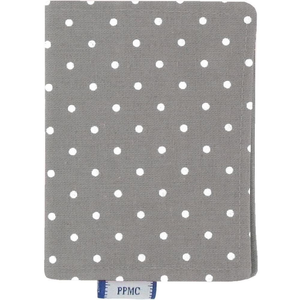 Card holder light grey spots