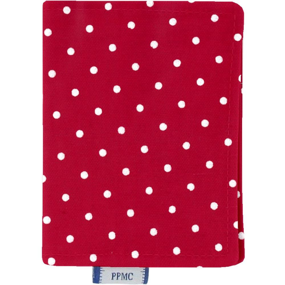 Card holder red spots