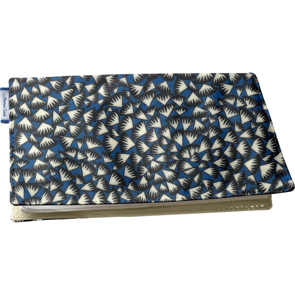 Porte chéquier  eclats bleu nuit