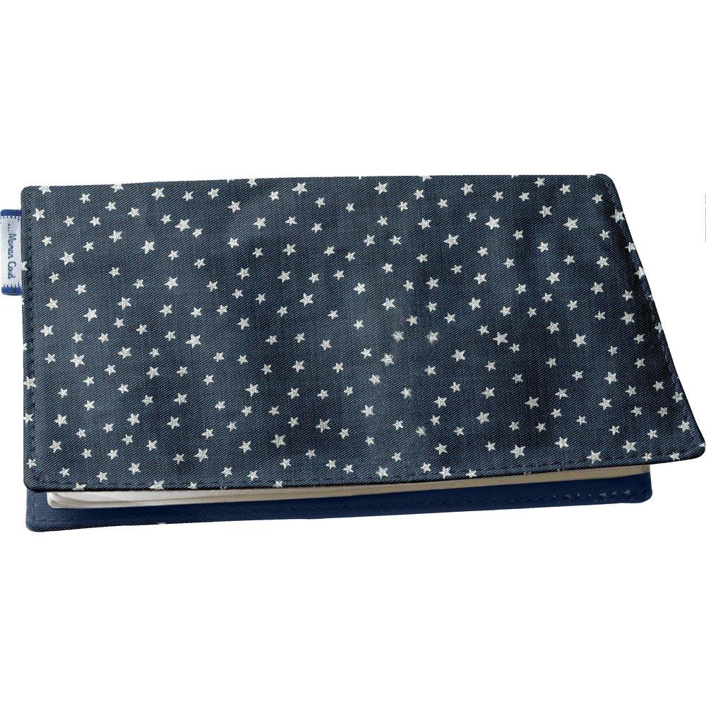 Chequebook cover etoile argent jean