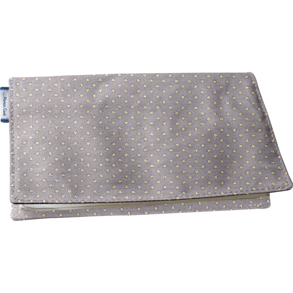 Portacheques etoile or gris
