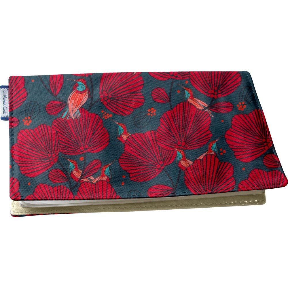 Chequebook cover oiseau de noël