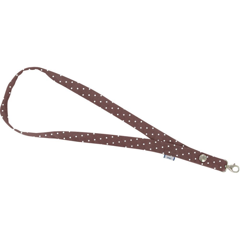 Lanyard necklace brown spots