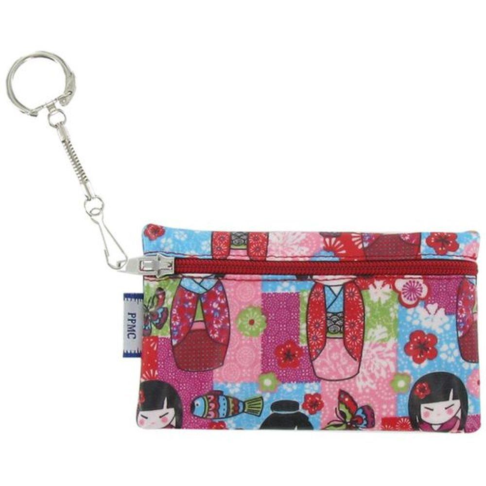 Keyring  wallet kokeshis