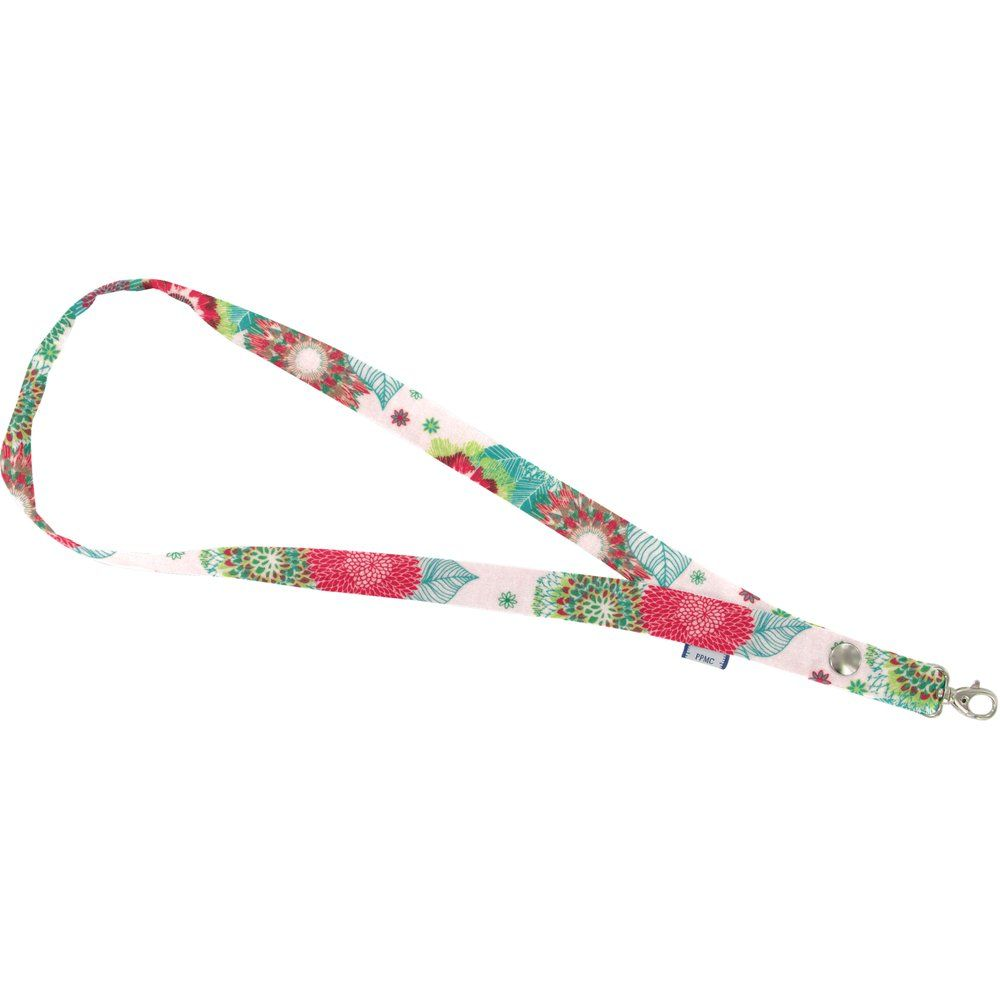 Lanyard necklace powdered  dahlia