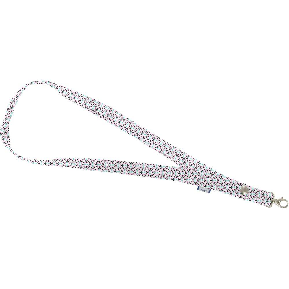 Porte-clés collier eclats fluo