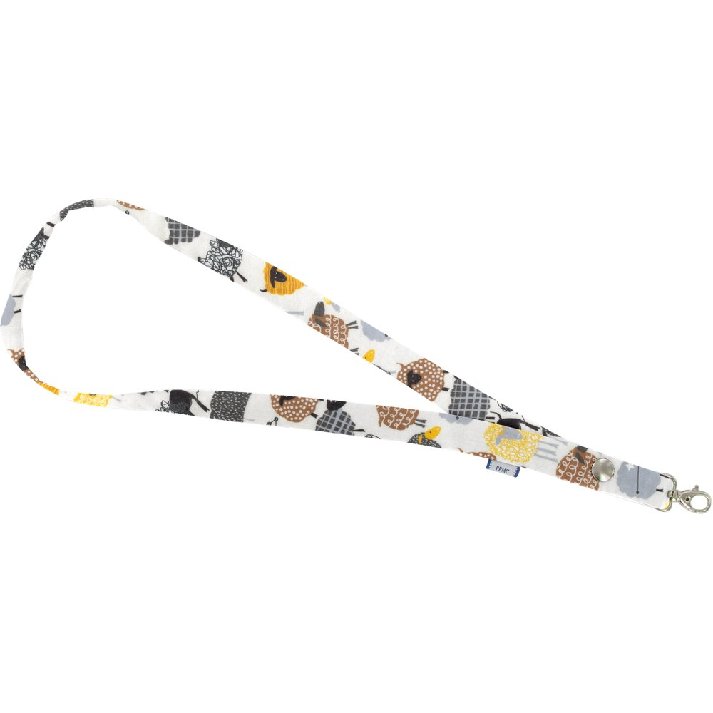 Lanyard necklace yellow sheep