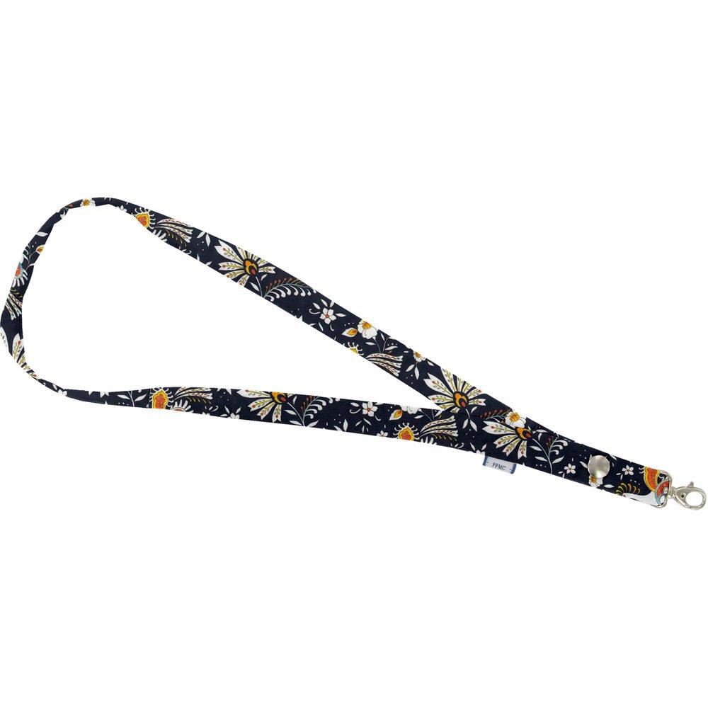 Porte-clés collier  oiseaux-lyre