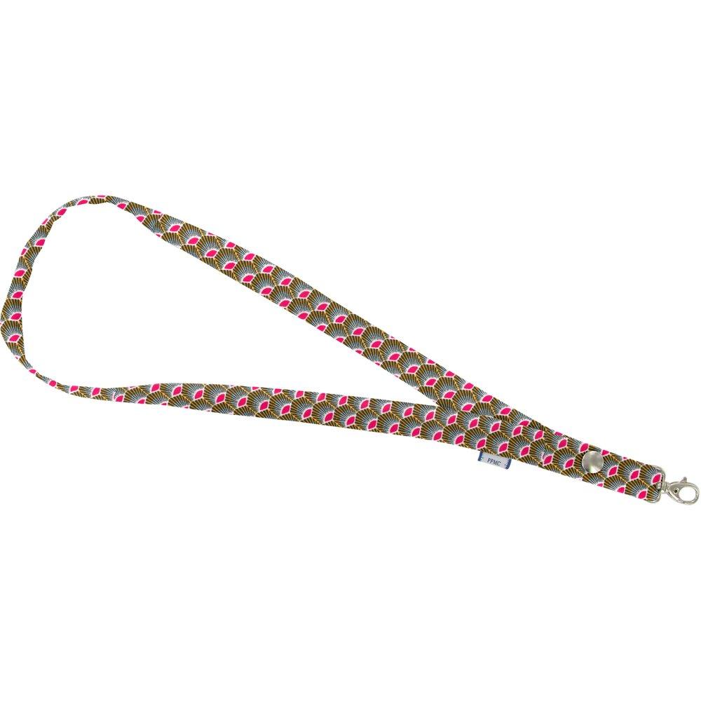 Porte-clés collier palmette