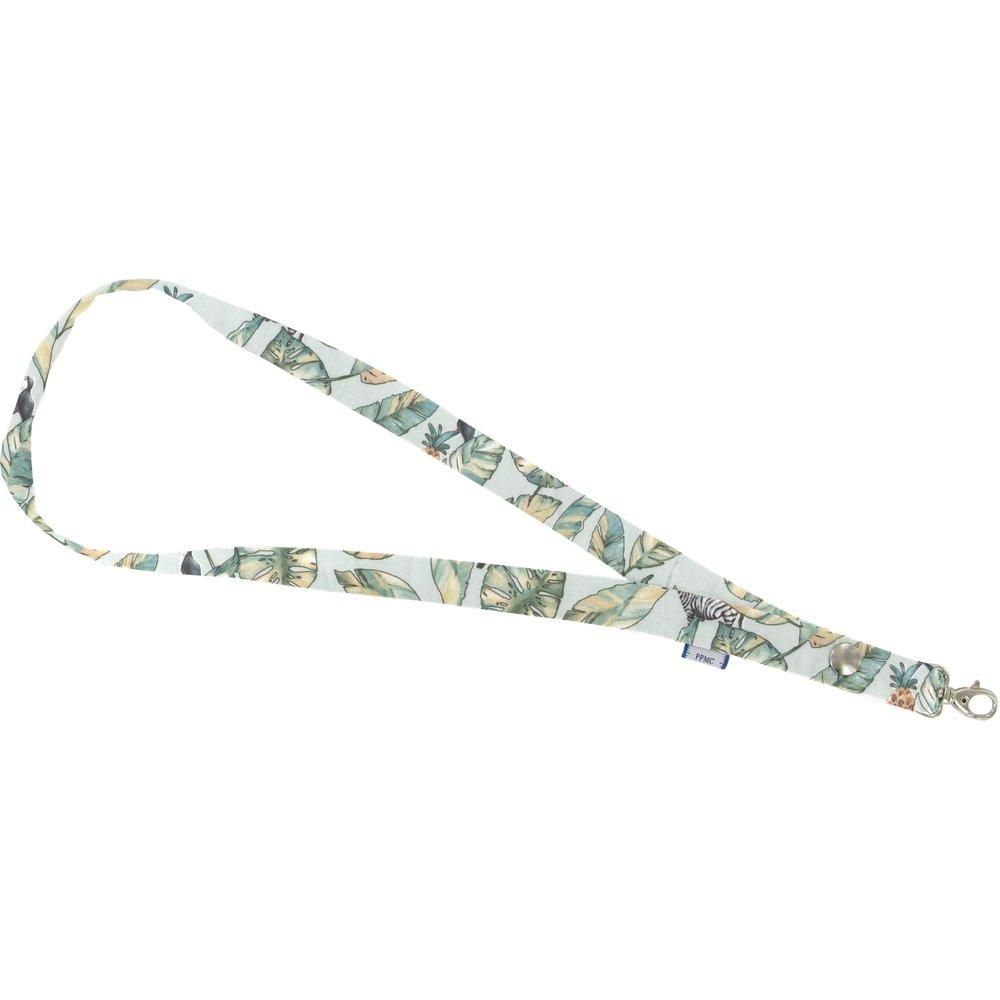 Porte-clés collier paradizoo mint