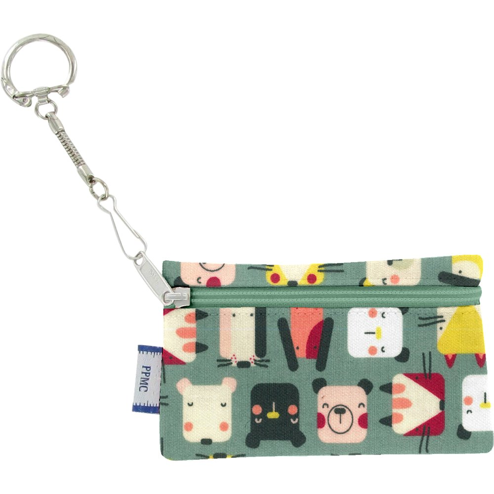 Keyring  wallet animals cube
