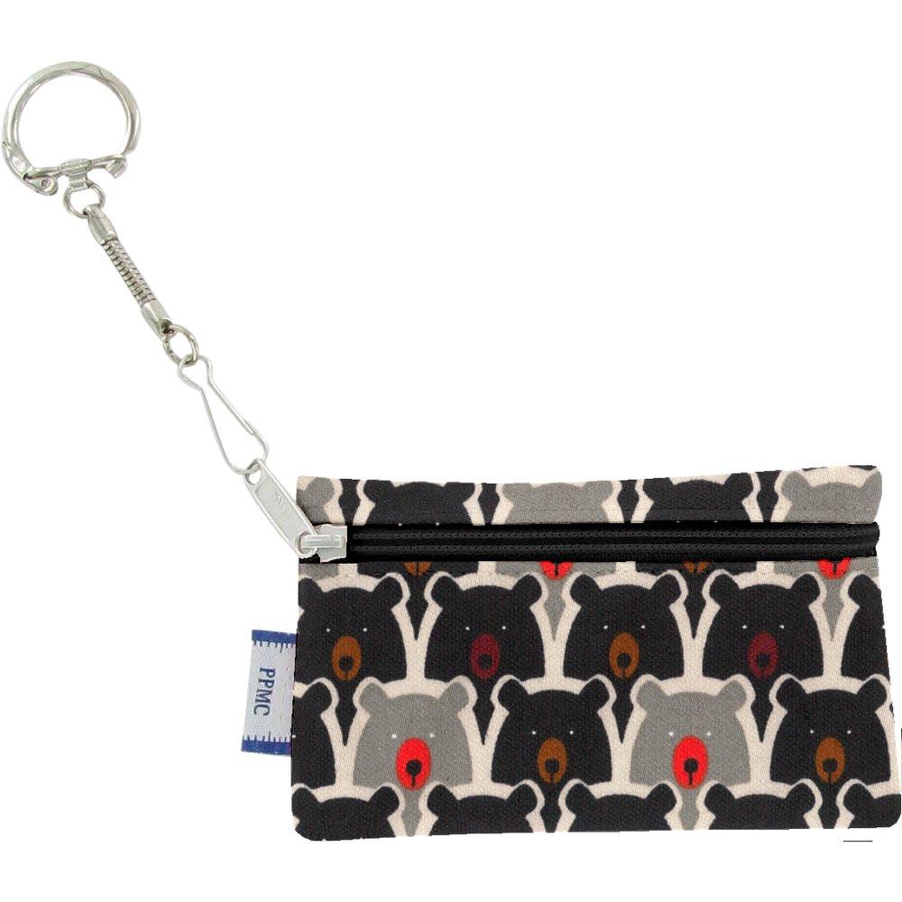 Pochette porte-clés ours pop