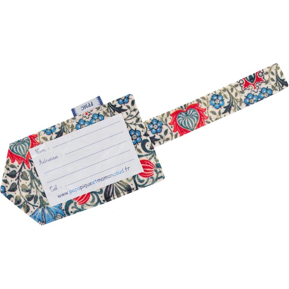 Etiquette bagage azulejos