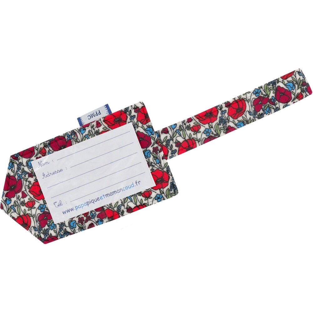 Luggage Tag poppy