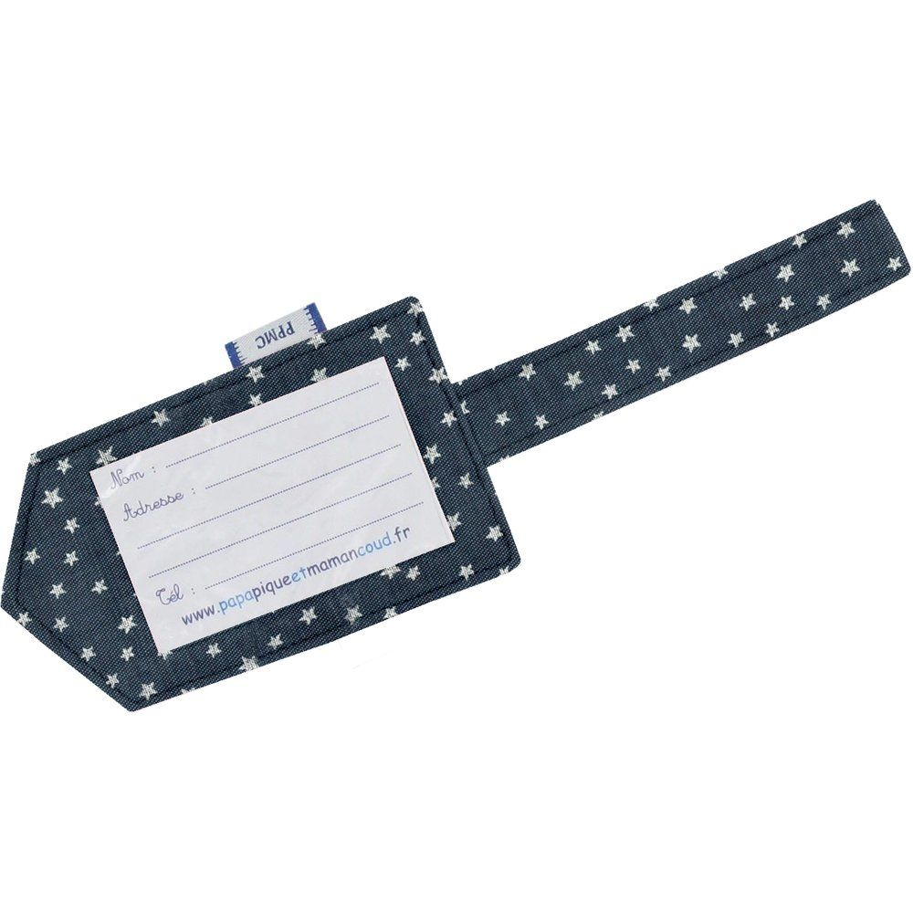 Luggage Tag etoile argent jean