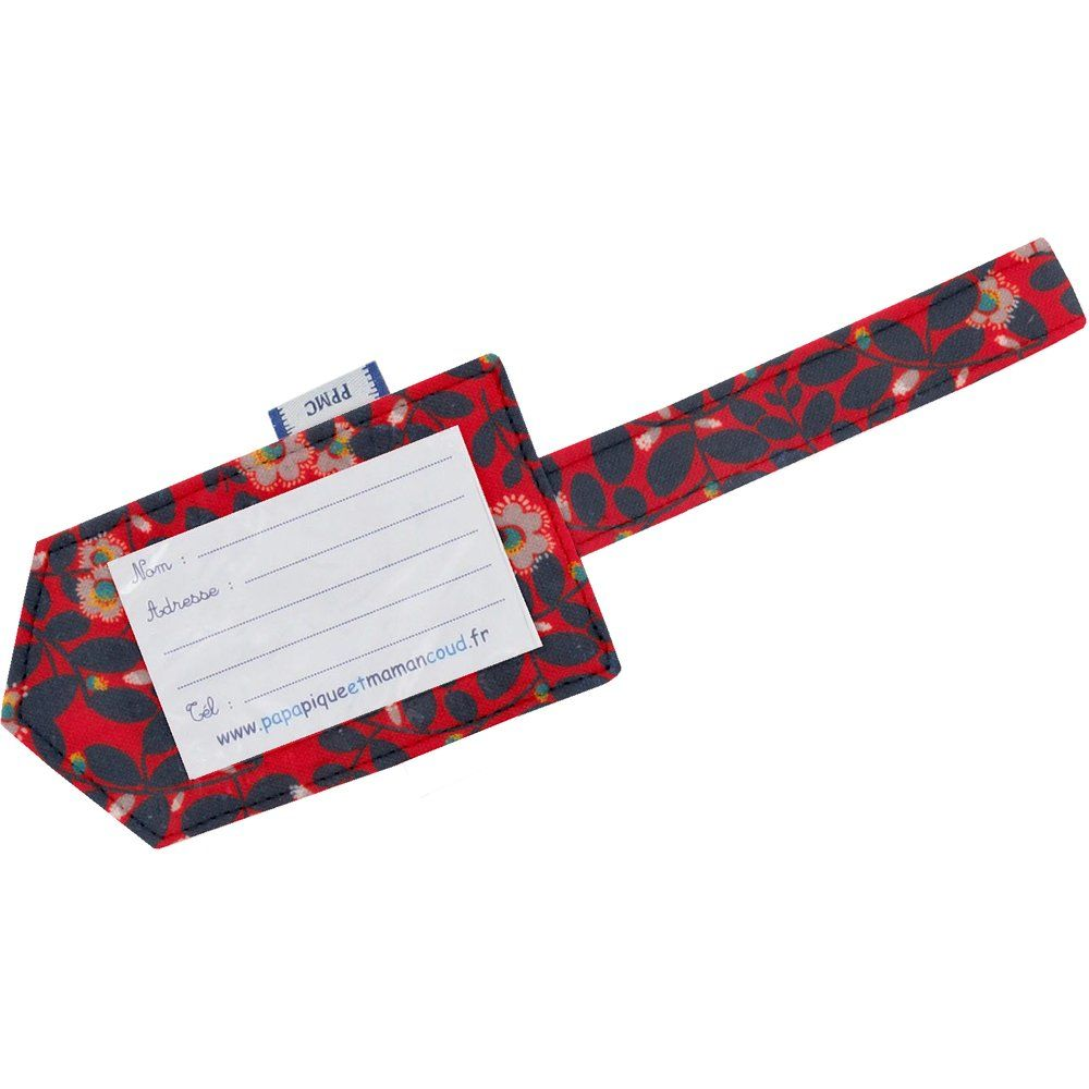 Luggage Tag vermilion foliage