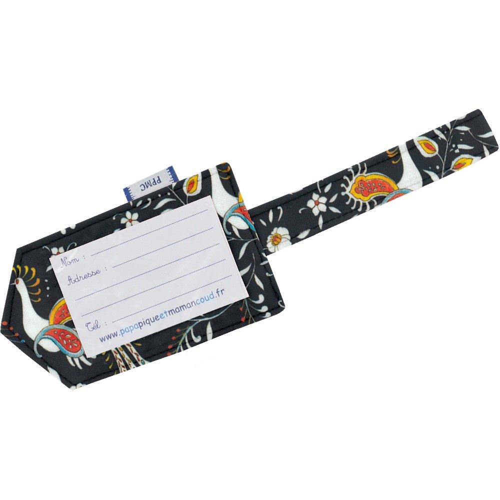 Etiquette bagage  oiseaux-lyre
