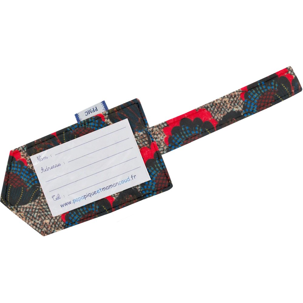Luggage Tag royal poppy