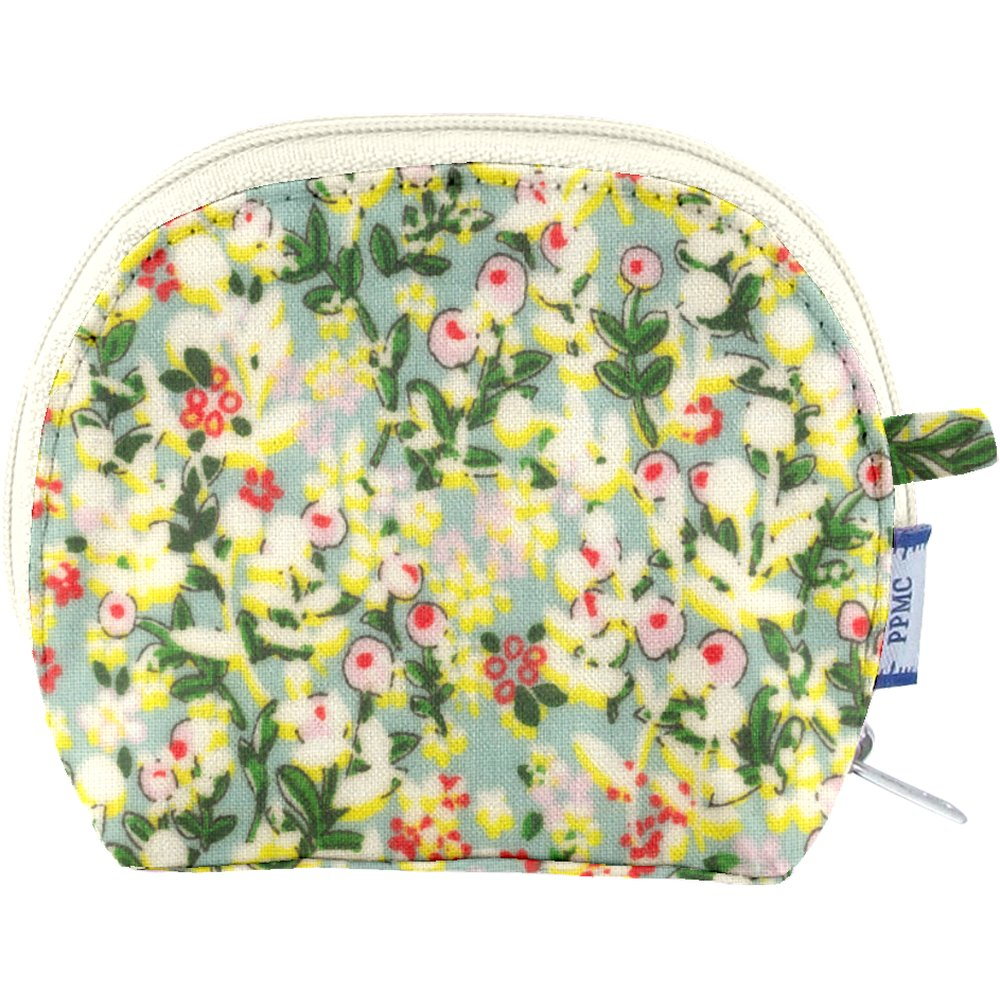 gusset coin purse menthol berry
