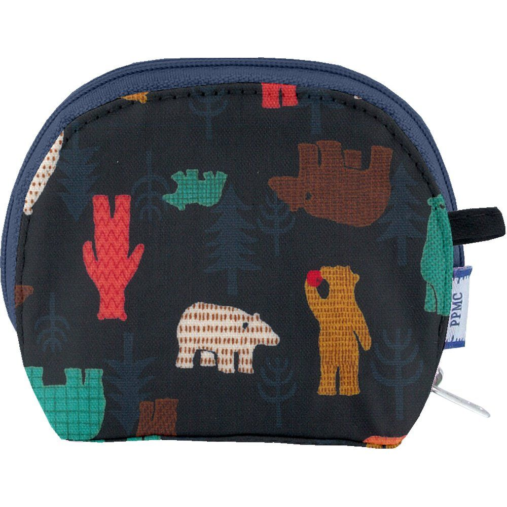 gusset coin purse grizzly