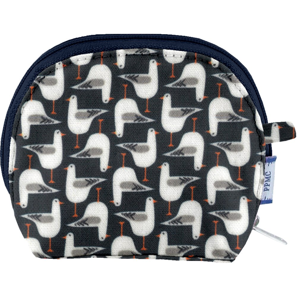 gusset coin purse black-headed gulls