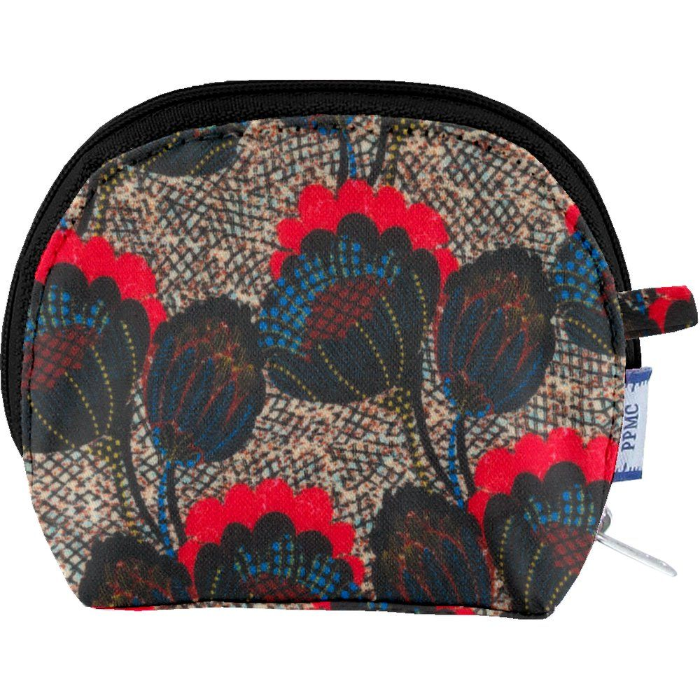 gusset coin purse royal poppy