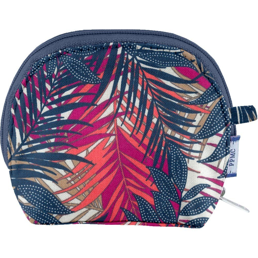 gusset coin purse tropical fire
