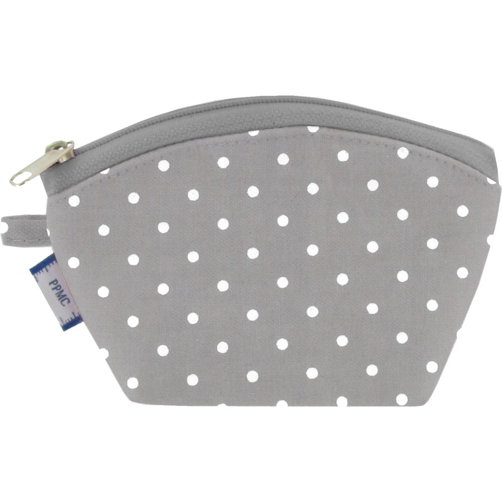 Coin Purse light grey spots