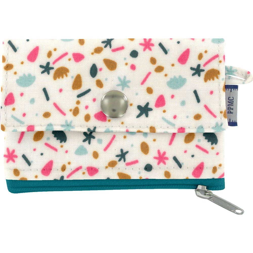 zipper pouch card purse sea side