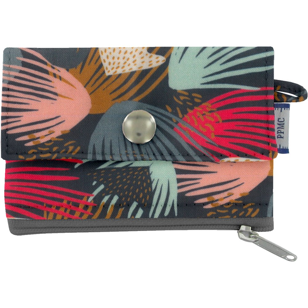 zipper pouch card purse fireworks