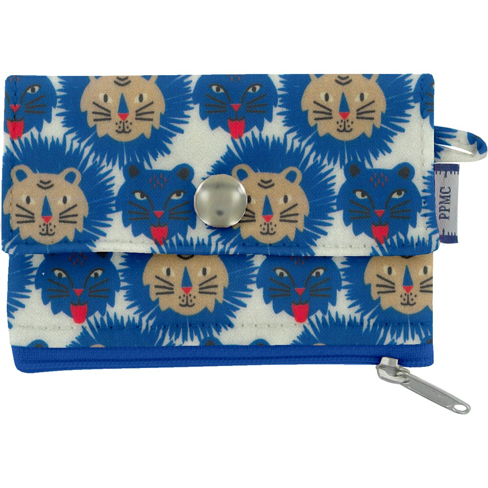 zipper pouch card purse roar