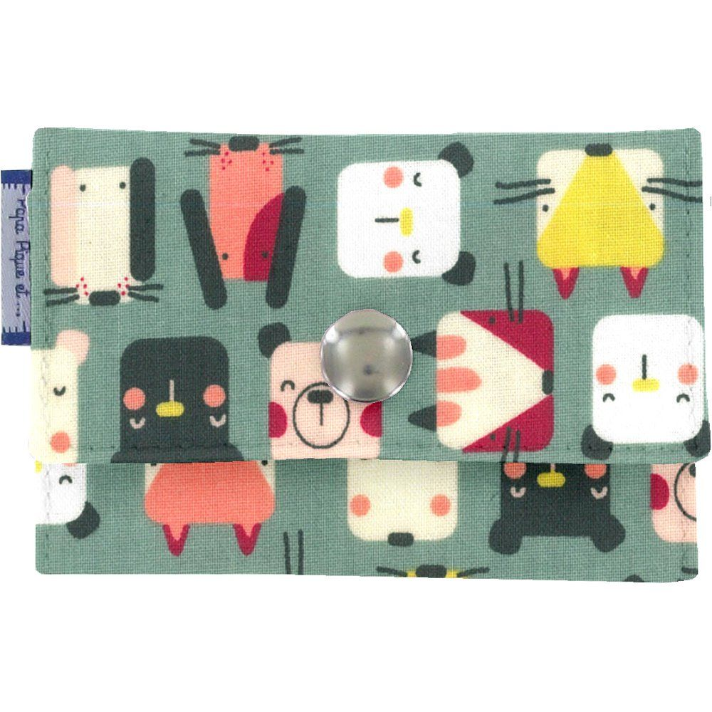 Multi card holder animals cube