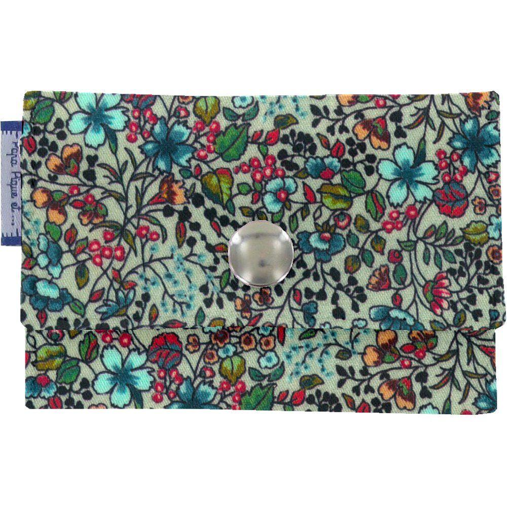 Multi card holder flower mentholated