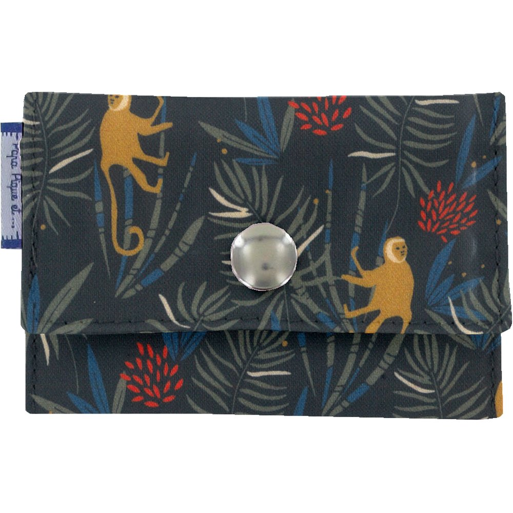 Porte multi-cartes jungle party