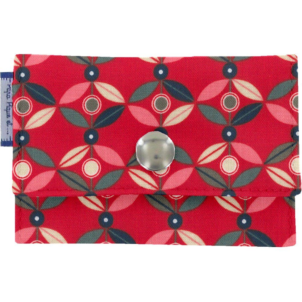 Multi card holder paprika petal