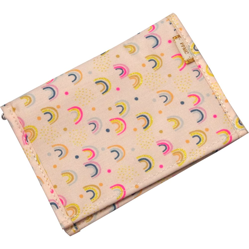 Compact wallet rainbow