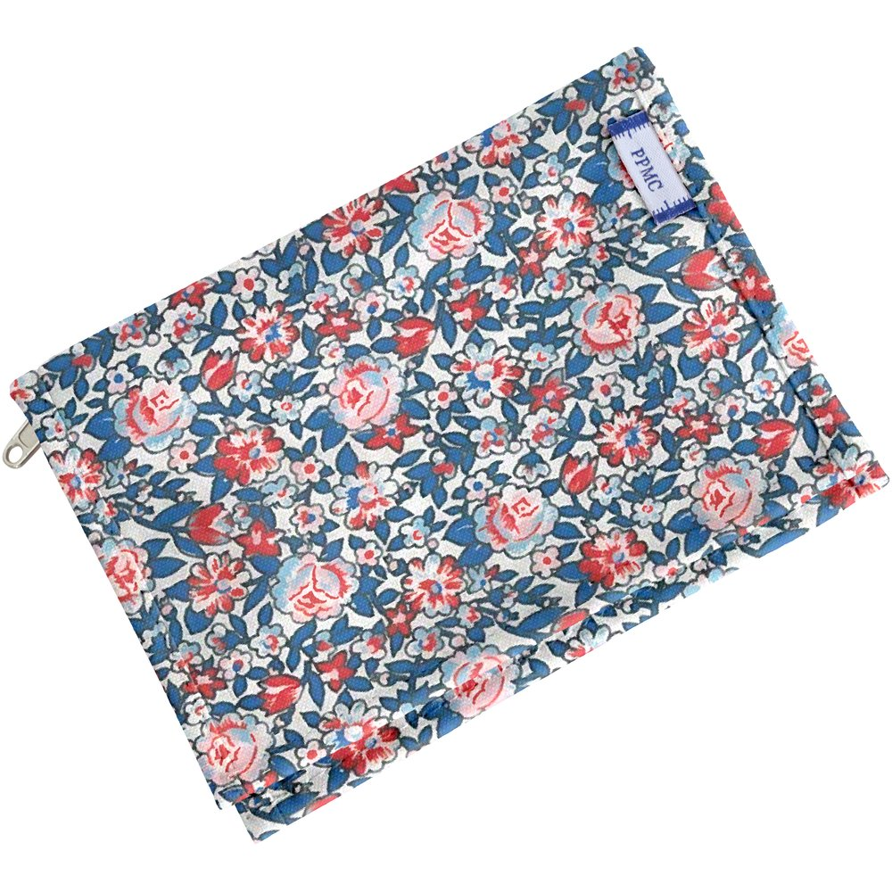 Compact wallet flowered london