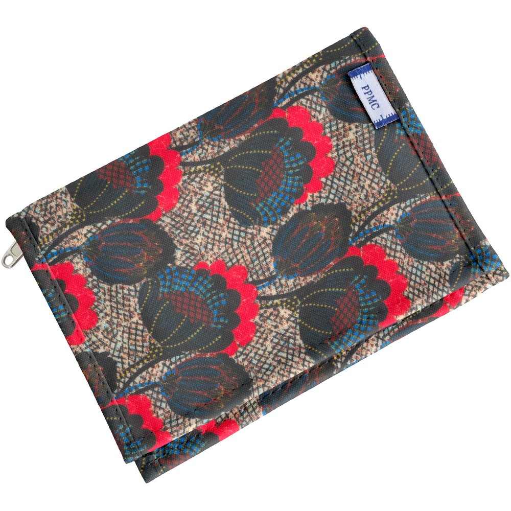 Compact wallet royal poppy